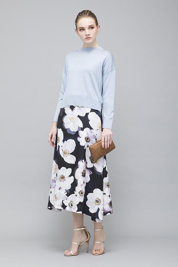 Poppy Printed Skirt