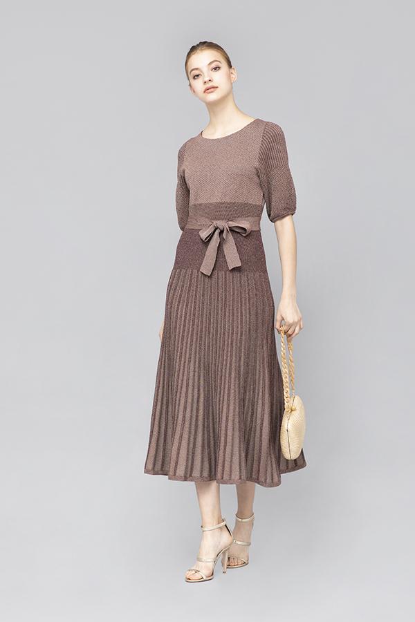 Silk Mix Dress