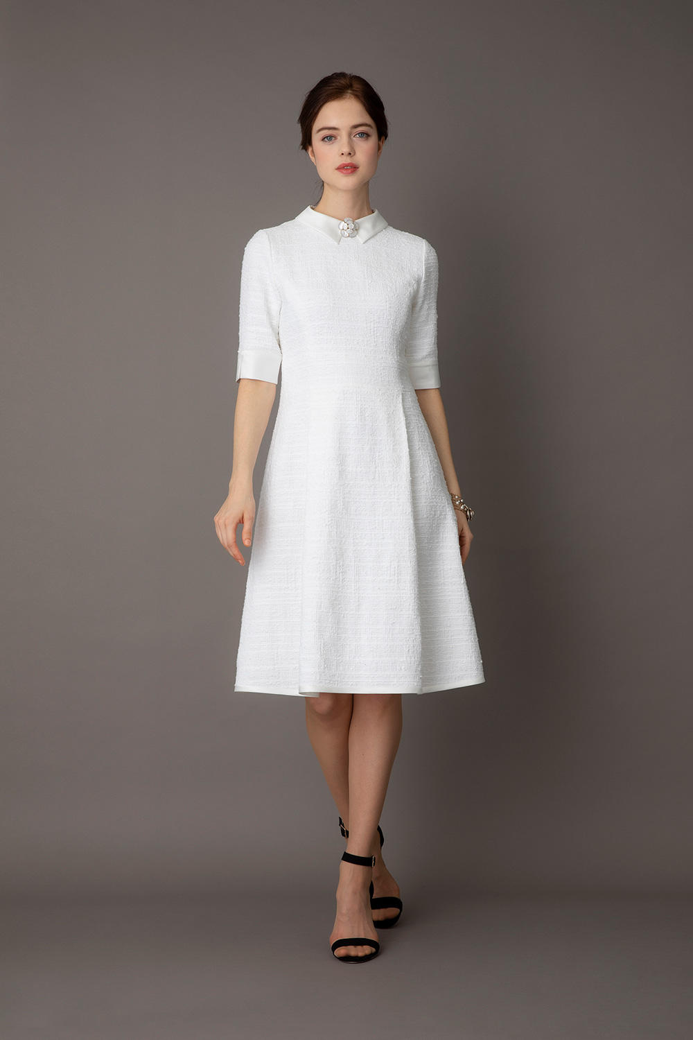 Clarenson Tweed Dress