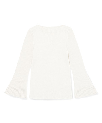 Flare Sleeve Knit