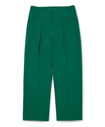 Green Color Pants