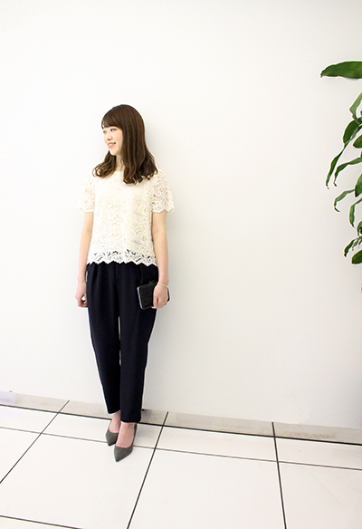 FLOWER RACE BLOUSE
