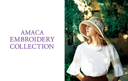 AMACA EMBROIDERY COLLECTION
