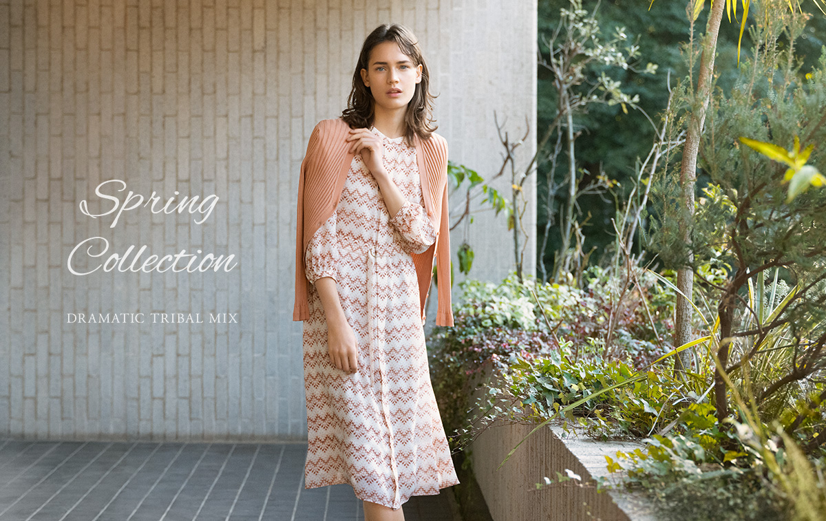 SPRING Collection: DRAMATIC TRIBAL MIX