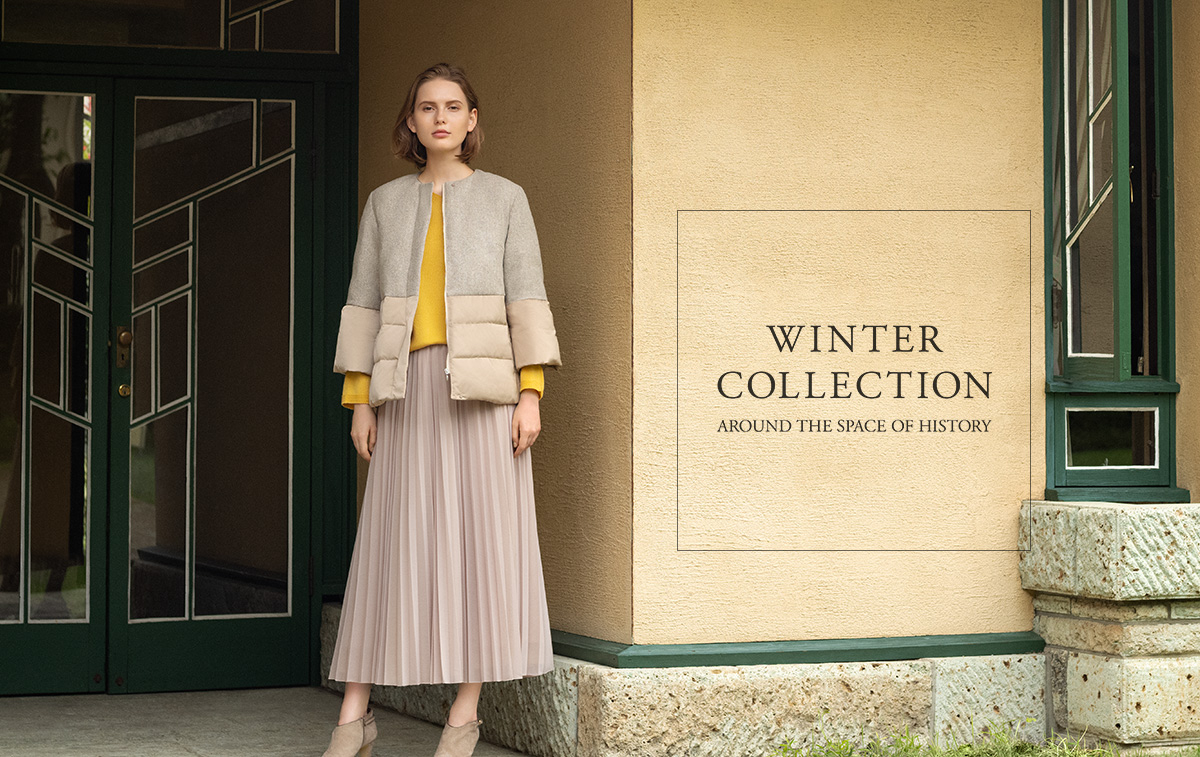WINTER COLLECTION: Around the space of history